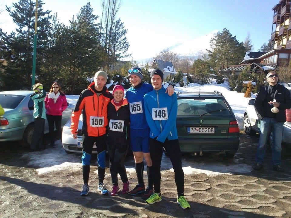 Zimná bežecká séria 2014-15 vyvrcholila v Starej Lesnej