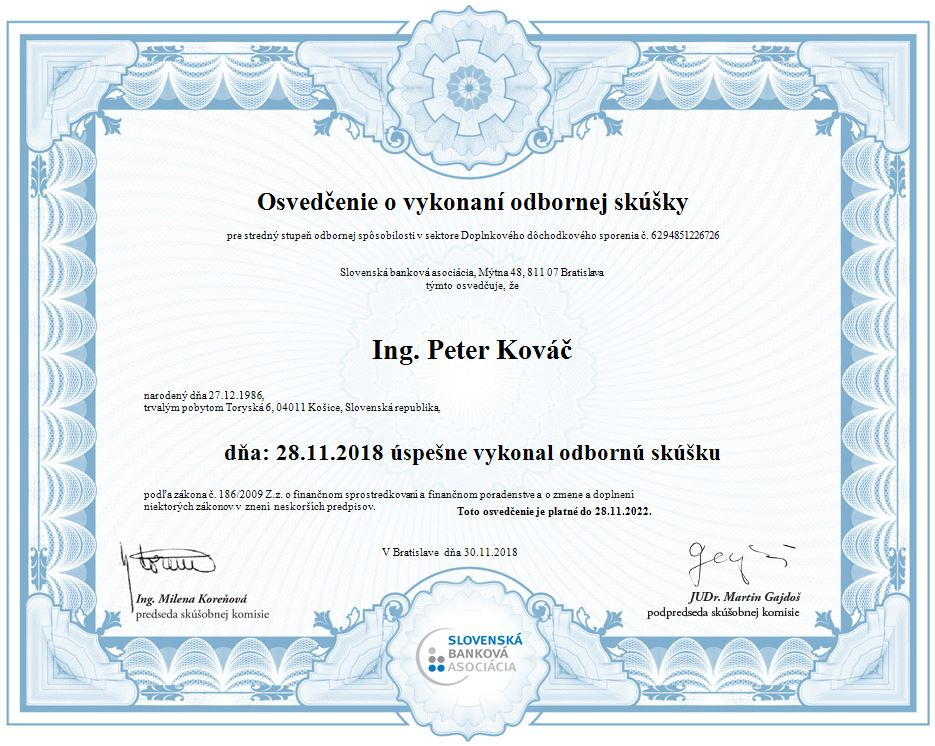 licencia NBS 2018