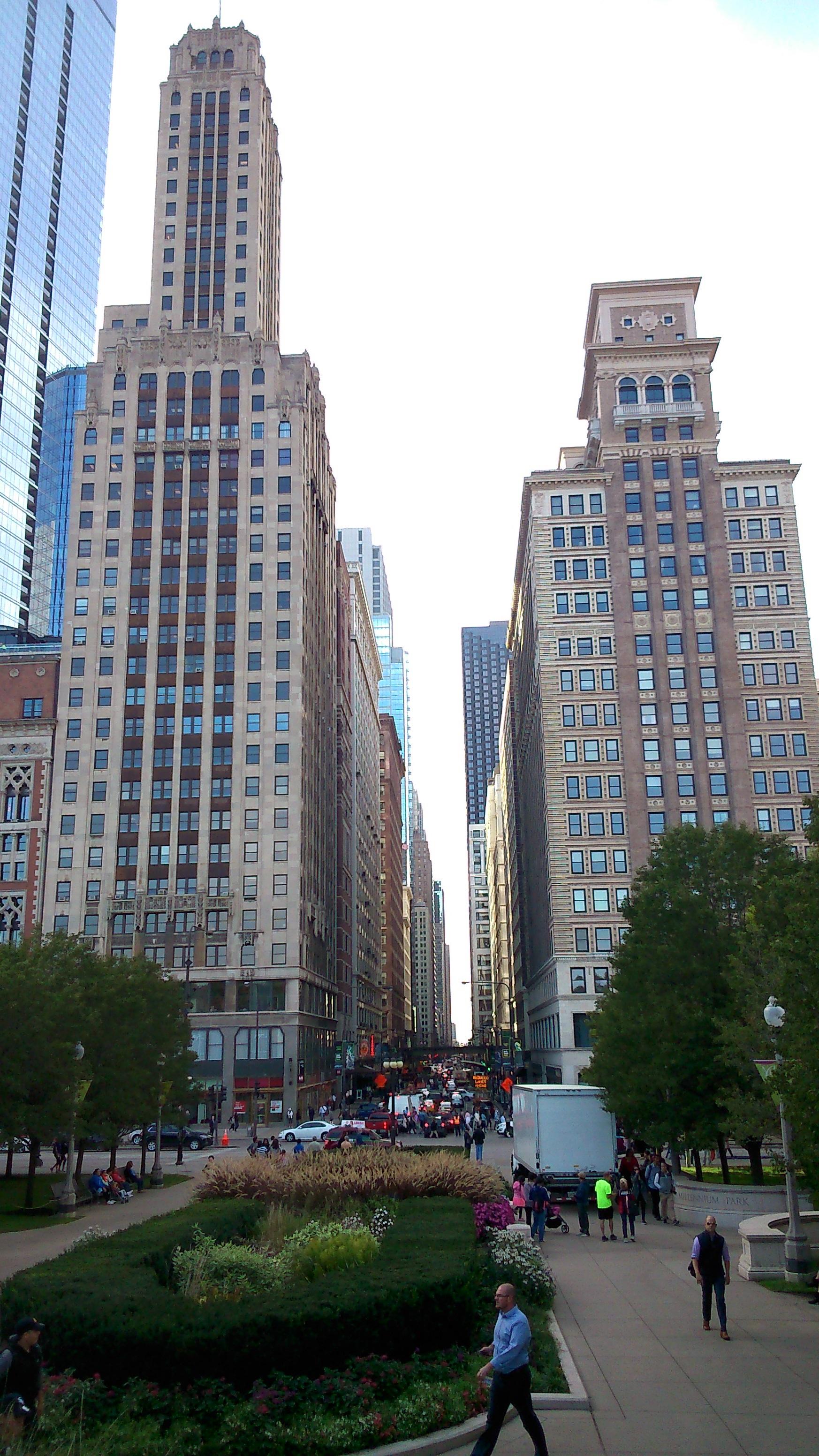 nejaká ulica v Downtowne