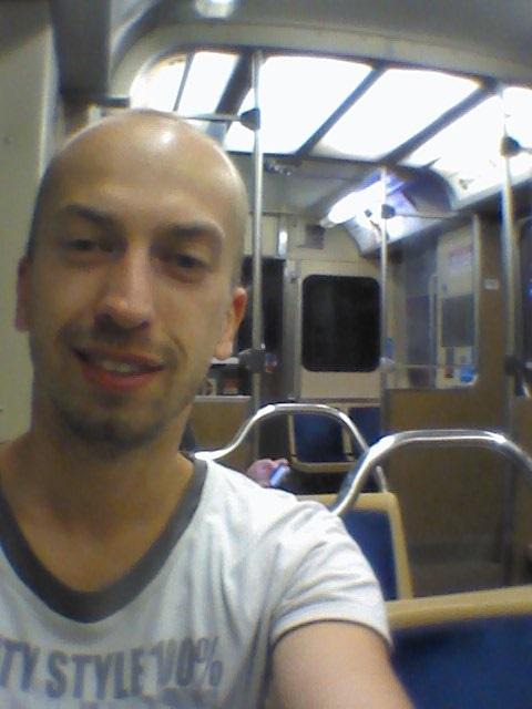 večerné metro domov