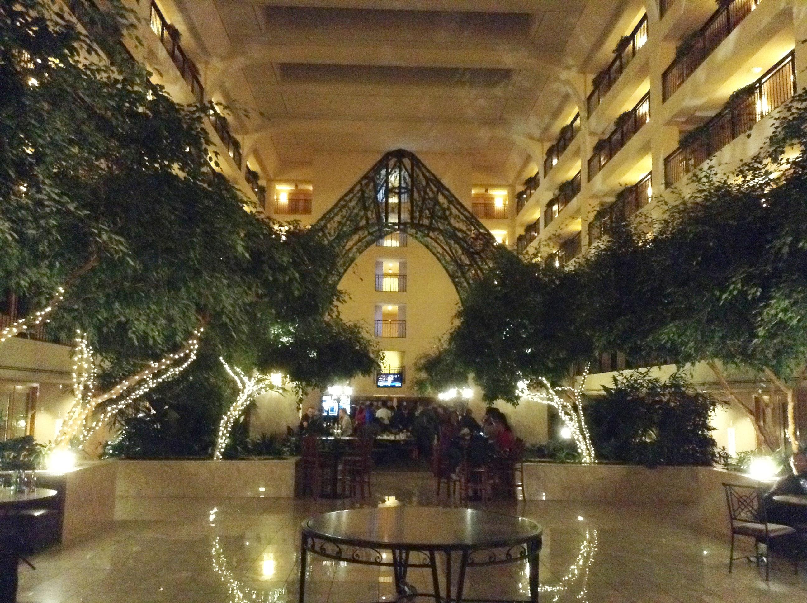 v hoteli, kde sme večerali aj raňajkovali