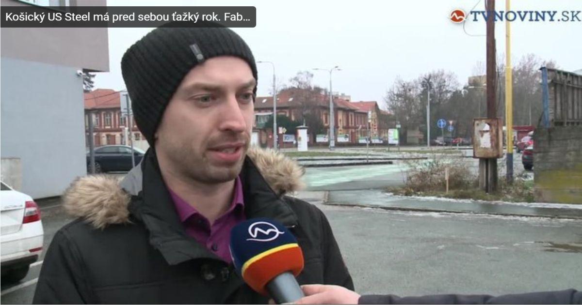 Mediálny výstup TV Markíza – Košický US Steel má pred sebou ťažký rok. Fabrika pozastavila investíciu desaťročia