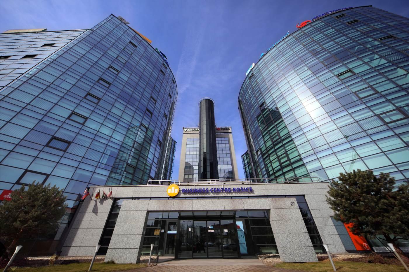 Business Centre Košice, kde sídli Wirecard