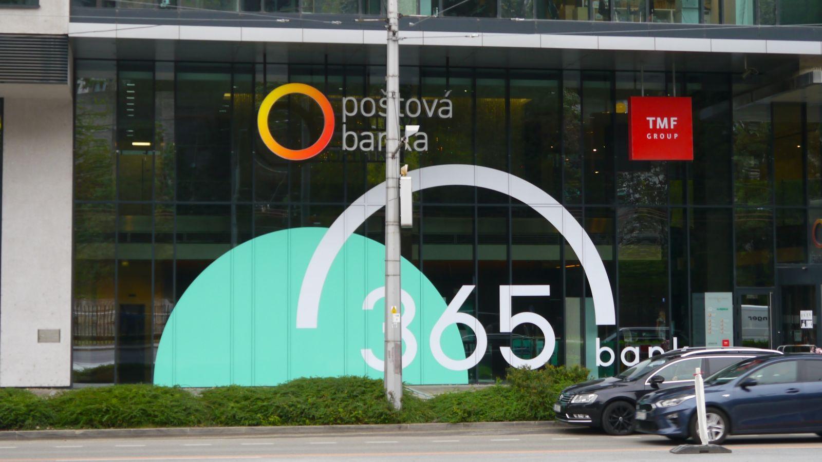 365.bank postupne nahradí Poštovú banku, foto: Filip Maxa