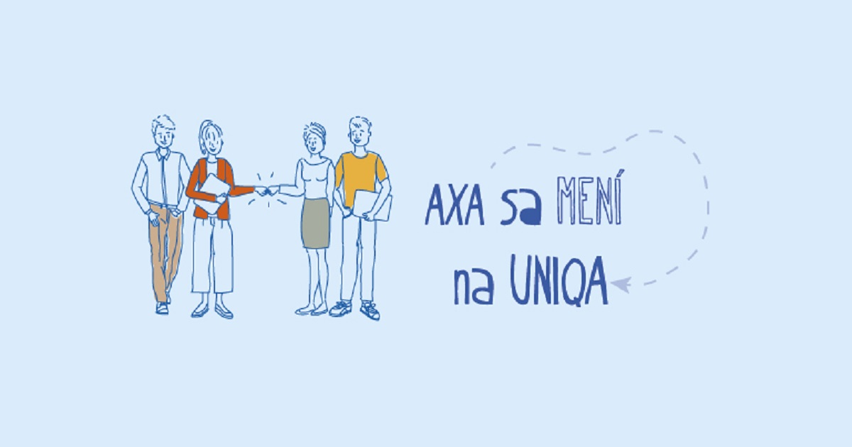 AXA sa mení na UNIQA, obrázok: UNIQA